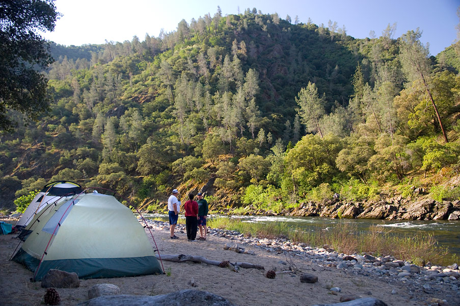 Tuolumne Riverside Camp