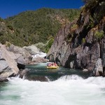"""Middle Fork of the American River Rafting the Middle Fork of the American River is a """"must do"""" on all rafter's lists. The Class IV river rushes through a pristine, secluded canyon where a melee of pounding whitewater and the beauty of the Sierra Nevada foothills combine to offer an incomparable whitewater adventure."""