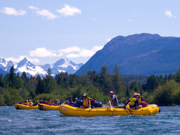 British Columbia Rafting
