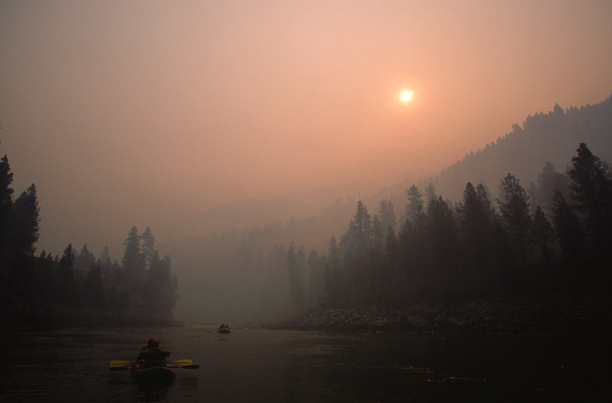 From the Front Lines of an Idaho Wildfire