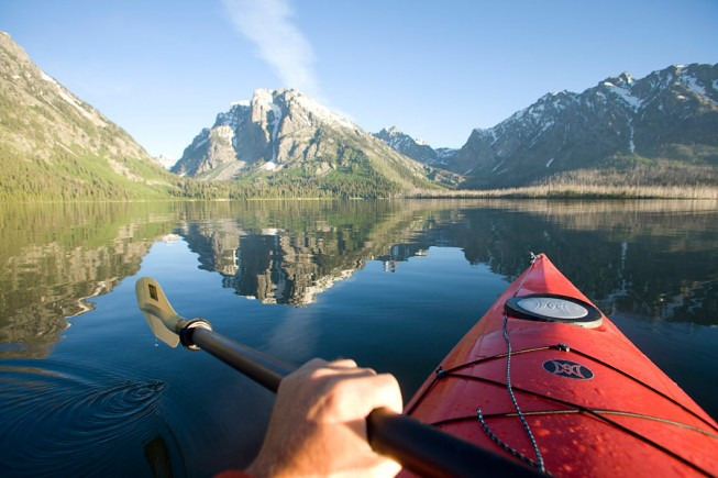 Grand Teton kayaking