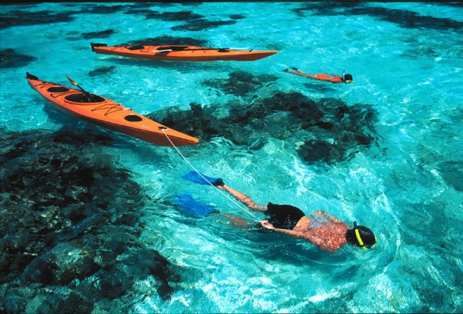 belize sea kayaking