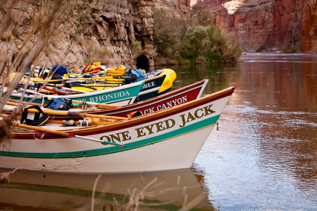 Grand Canyon dory trips