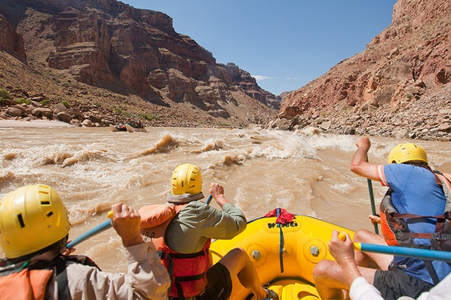 Whitewater Rafting in Cataract Canyon