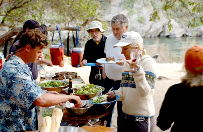 The Art of Cooking for River Trips