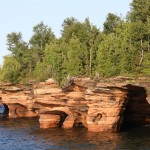 Apostle Islands National Lakeshore, Wisconsin With its stunning rock formations and cool sea caves, Devils Island may be the most-visited of Wisconsin's Apostle Islands in Lake Superior, but with 20 other islands (19 of which have camping), paddlers can find plenty of solitude. Photo: Royalbroil