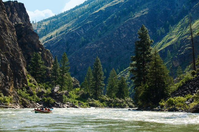 Middle Fork Salmon River dory trip
