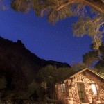 Phantom Ranch, a collection of rustic cabins, offers the only overnight accommodations at the bottom of the Grand Canyon.