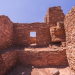 Built in the 1100s, Wupatki was home to roughly 100 people. Some of the multi-story dwellings contained over 100 rooms.