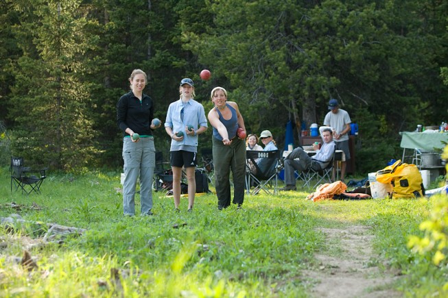 Best camping games: bocce ball