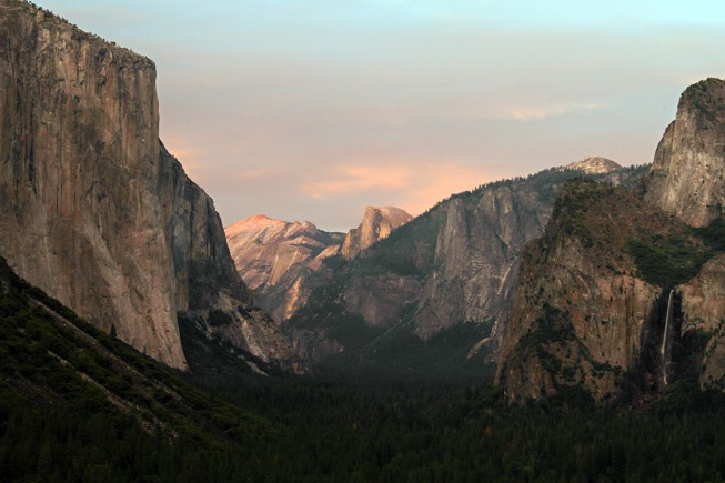 Tunnel View at Sunset | Photo: Jim Markle