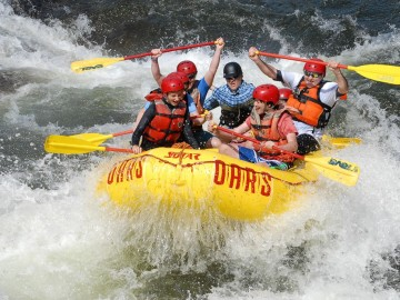 California Rafting Outlook Better Than Expected